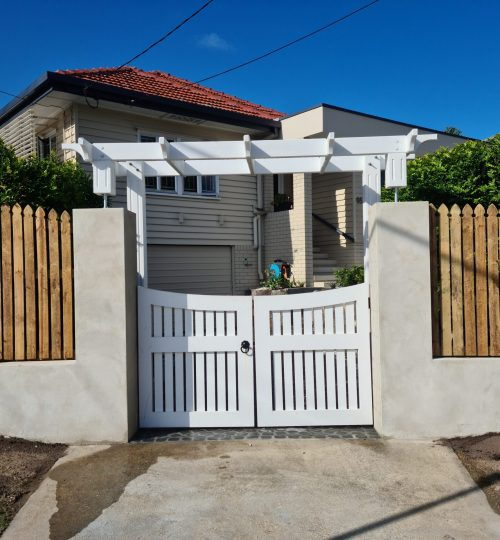 Sandgate Entryway: After