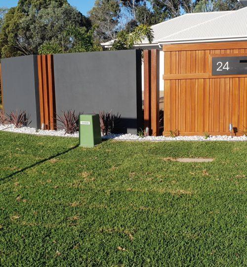 Custom designed walls and fences
