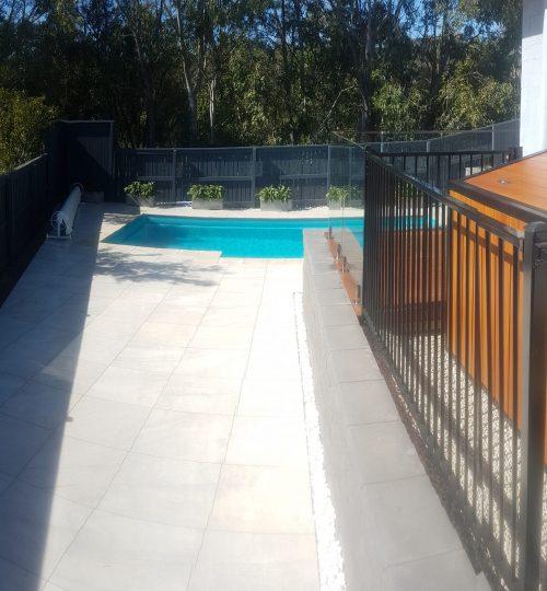 Custom made pool pump cover